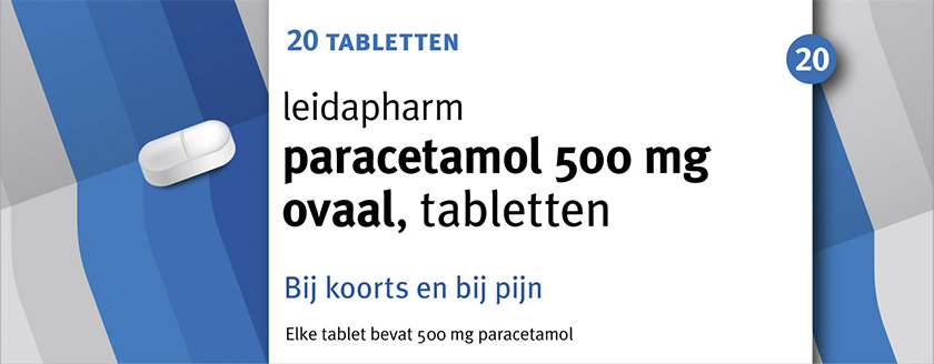 paracetamol 500 mg tabletten OVAAL