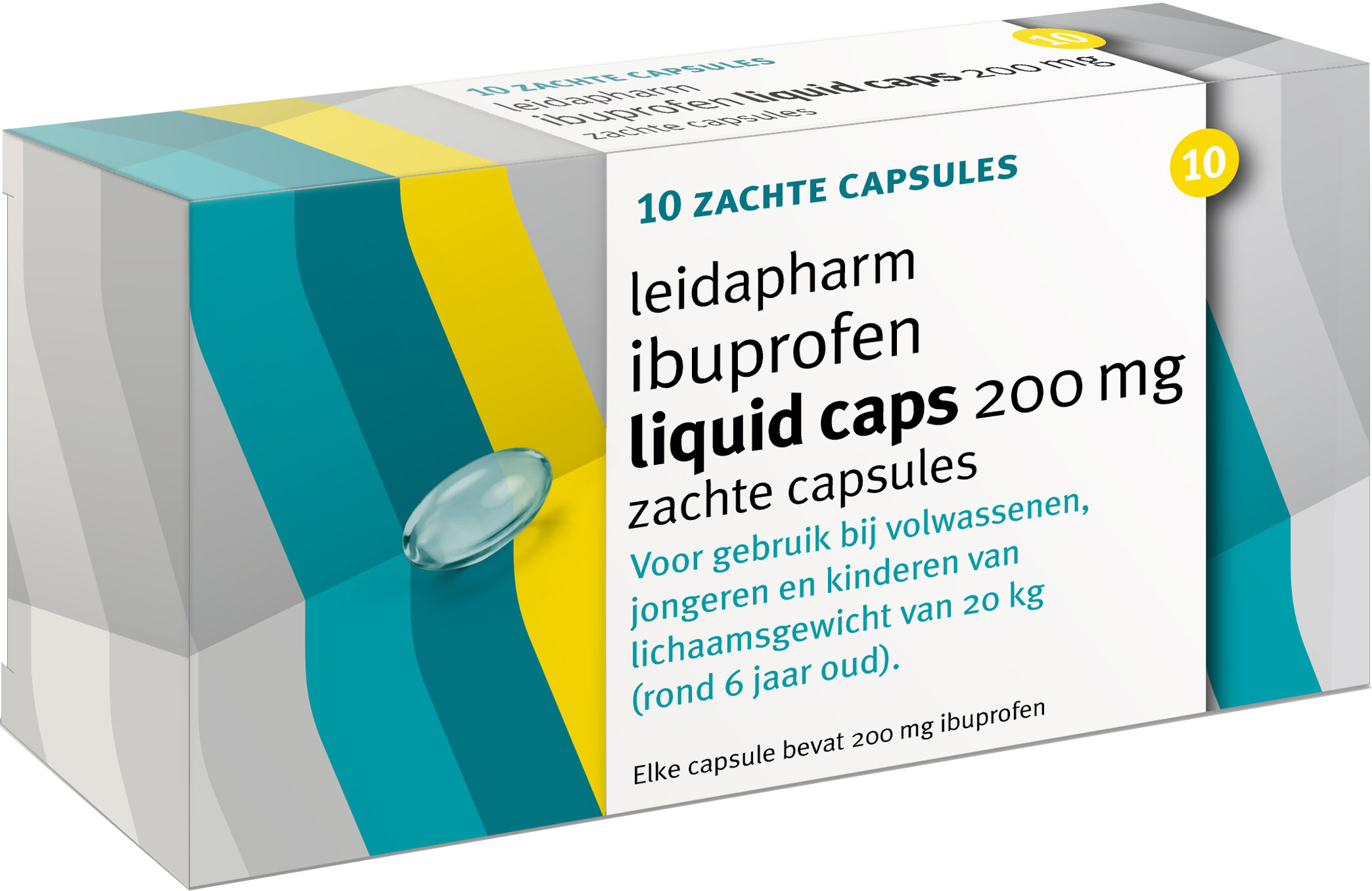 Ibuprofen Liquid Caps 200 mg